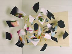 JD Walsh « PICDIT #sculpture #collage #installation