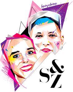 s&z #vector #henryosborne #design #illustration #art