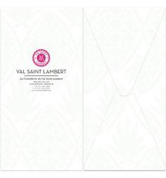 VAL SAINT LAMBERT on the Behance Network #envelopes