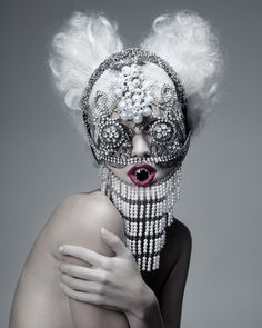 "Saatchi Online Artist: Paco Peregrín; Digital, 2010, Photography ""BEAUTIFUL MONSTER (V)"" #fashion #photography"