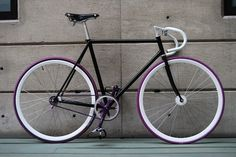 Alien Bikes #black #fixed gear #fixie