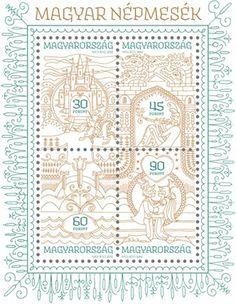 Stamp desgin, Hungarian folk tales #tales #stamp #folk #hungarian #desgin
