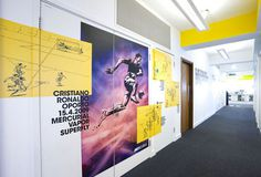 Inside Nike's UK London HQ The Mercurial Zone Football News #nike #ronaldo