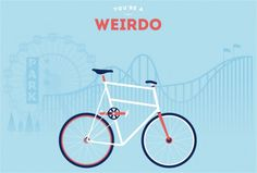 You are what you ride #illustrations #bike