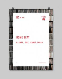 Home Beat Poster A2 #poster