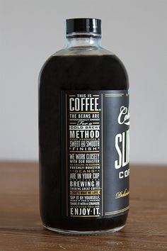 Daper #coffee #type #label