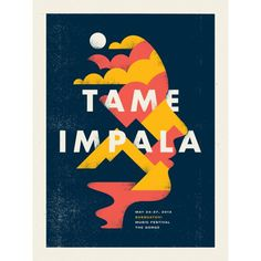 Tame Impala poster by Doublenaut