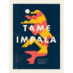 doublenaut_tameimpala.png #impala #posters #doublenaut #tame