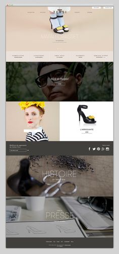 Websites We Love — Showcasing The Best in Web Design #website #grid #homepage