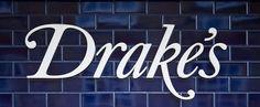 Pentagram #logo #drakes #pentagram #branding