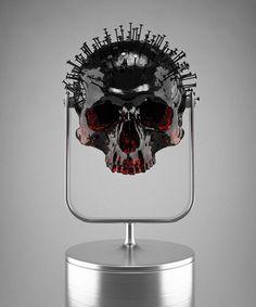 05 #sculpture #skull #hedi xandt