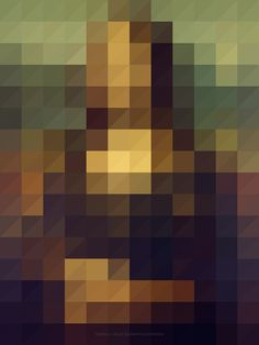 mona lisa #poster #color