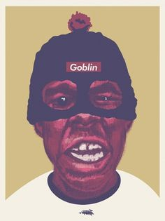Tyler the Poster | Flickr - Photo Sharing! #creator #design #the #bitmap #illustration #poster #goblin #tyler