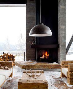 Rustic Luxury Mountain House - #outdoor, #architecture, #house, #landscaping, outdoor, architecture