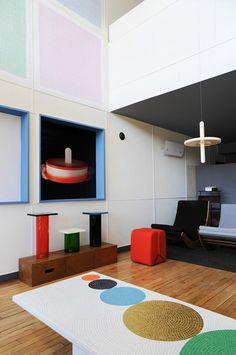 Tumblr #interior #form #geometry #composition #colour
