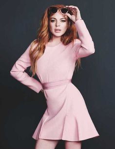Lindsay Lohan by Alex Sainsbury #fashion #photography #inspiration