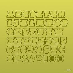 Rolka™ on the Behance Network #type #alphabet #typography