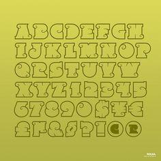 Rolka™ on the Behance Network #type #alphabet #typography