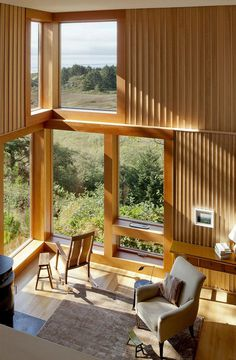 Neskowin Beach House Designed Like a Box of Cedar, Hemlock and Stone 5