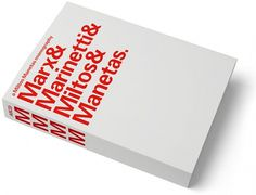 MM / MMMM - Experimental Jetset #manetas #design #experimental #graphic #book #cover #miltos #jetset