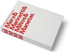 MM / MMMM - Experimental Jetset #manetas #design #experimental #graphic #book #cover #miltos #jetset