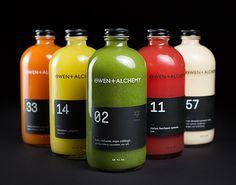 owen,alchemy,packaging,bottle,red,green,orange,red,white,yellow,rojo,verde,amarillo,blanco,naranja,botellas,bottles,branding,brand