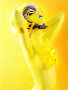 Back To Earth on Behance #yellow #helmets #photography