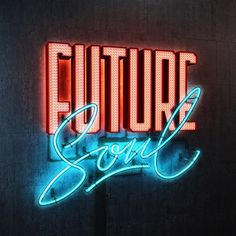 #neon #typography #3D #lights