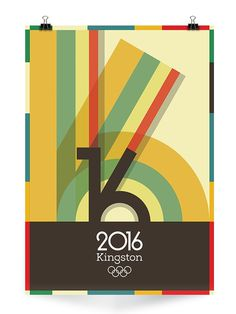 Kingston 2016 Olympics on Behance