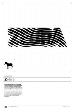 Twenty-Six Types of Animals by Jeremy Pettis #blackwhite #poster