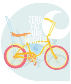 ANONYMOUS MAG #muscle #fat #carhartt #bicycle #ride #retro #zero #illustration #bike #fashion