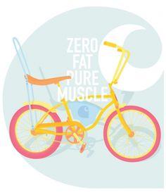 ANONYMOUS MAG #muscle #fat #carhartt #bicycle #ride #retro #zero #illustration #bike #fashion