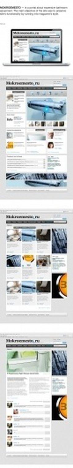 Mokroemesto.ru, bathroom eqiupment. on Web Design Served #dfdfgdfg