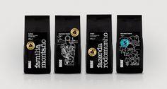 Origin Coffee | Packaging Design | A-Side #illustration #side
