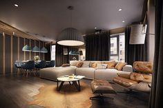 Modern Living room °2 - Apartment °1 #modern #livingroom #soggiorno #moderno #appartamento
