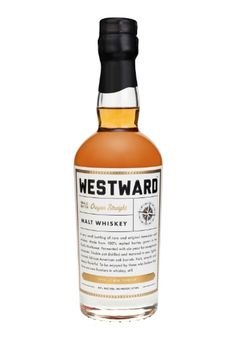 westward whiskey / afton hakes #whiskey #branding #packaging #alcohol #liquor #label