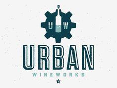 Urb wineworks | LOGOS #logo