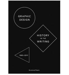 grain edit · Graphic Design: History in the Writing #cover #books