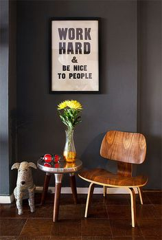 CJWHO ™ (Work Hard And Be Nice To People) #print #design #illustration #art #typography #photography #quote #interiors