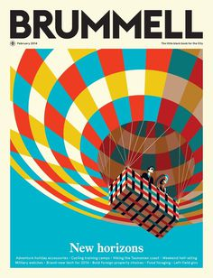 Malika Favre Archives | Handsome Frank Illustration Agency #pattern #cover #balloon #illustration #magazine