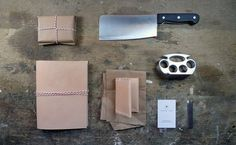 Cleaver + Bark | Tom Petty | Designer #meat #brand #natural #leather