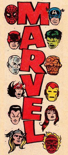 thecomicsvault: M A R V E L Â C O M I C SÂ #marvel #nostalgia #comic #spiderman #captain america #dare devil #hulk #iron man #thor #vintag