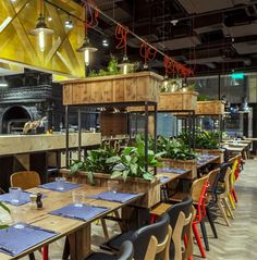 Enterior Created Welcoming Restaurant Decor for Michelin Chef Adrian Quetglas - InteriorZine