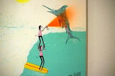 FECAL FACE DOT COM #surfers #howell #jay #paint #spray