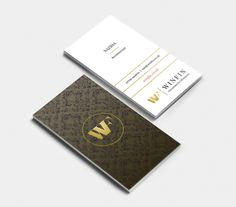 Business card design that belongs to Winfin Accounting firm, Dubai. Details here: http://customwebdesignseo.com/portfolio-item/branding-winf #stationary #branding #business #accountant #accounting #cards