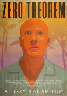 Poster for Zero Theorem by Bob Studio #theorem #zero #illustration #gilliam #terry #poster #film