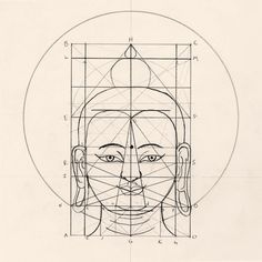 John Dilworth Art & Design: Grids and Consistency #grid #buddha