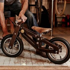 Bennett Balance Bike #wood #gadget #bike