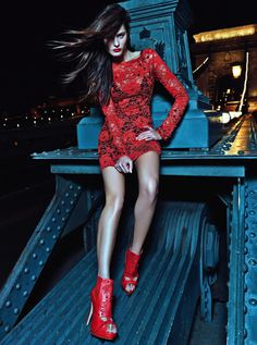 Isabeli Fontana for Morena Rosa Shoes Campaign #model #girl #lookbook #photography #portrait #fashion
