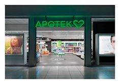 Apotek Hjxc3xa4rtat #logotype #red #branding #hearth #apotek #design #germany #store #corporate #brand #award #logo #dot #green
